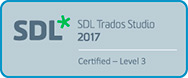 SDL Trados Studio 2017 - Level 3